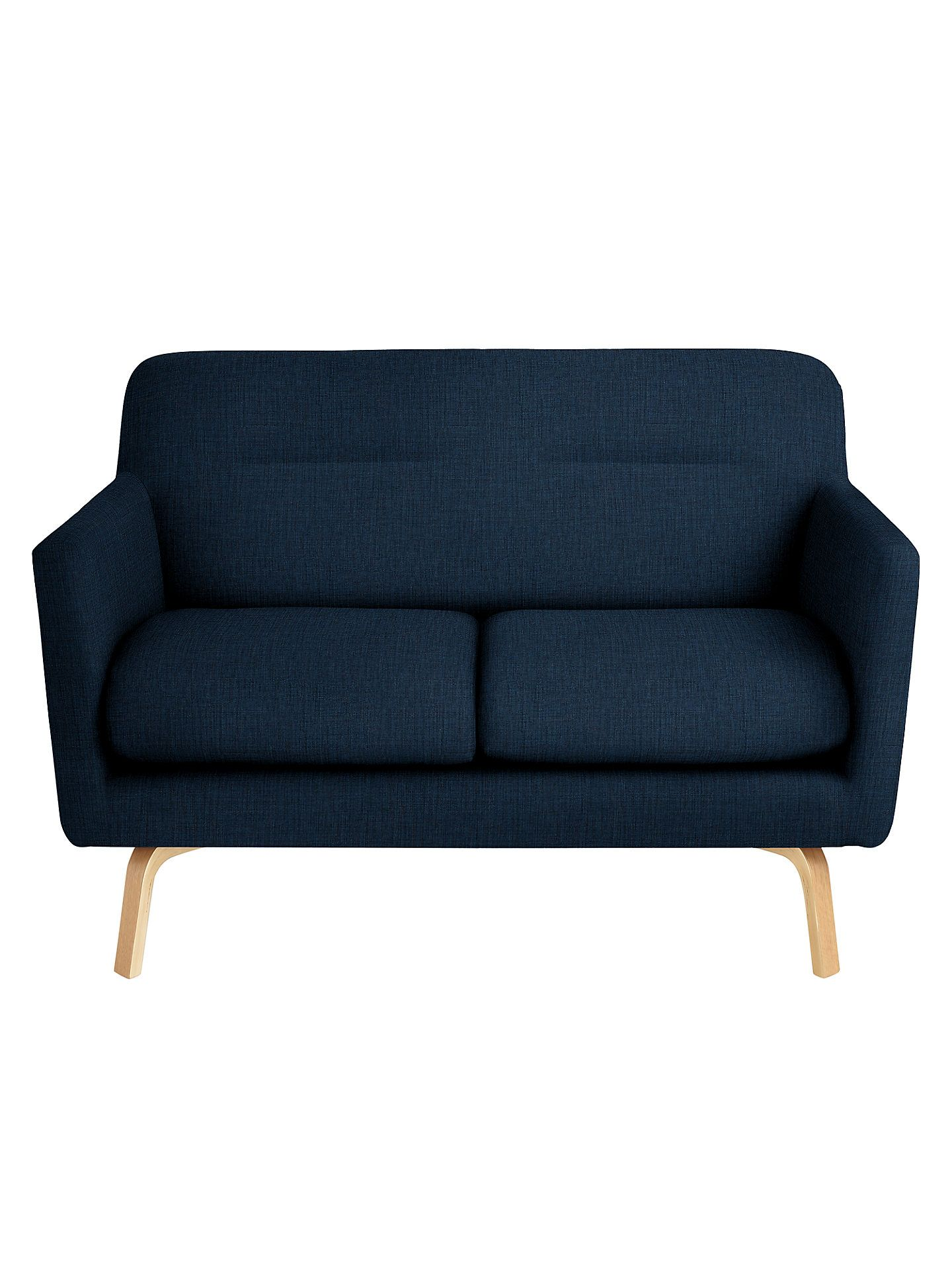 House By John Lewis Archie Ii Small 2 Seater Sofa At John Lewis Partners Small Sofa Seater Sofa Simple Couch