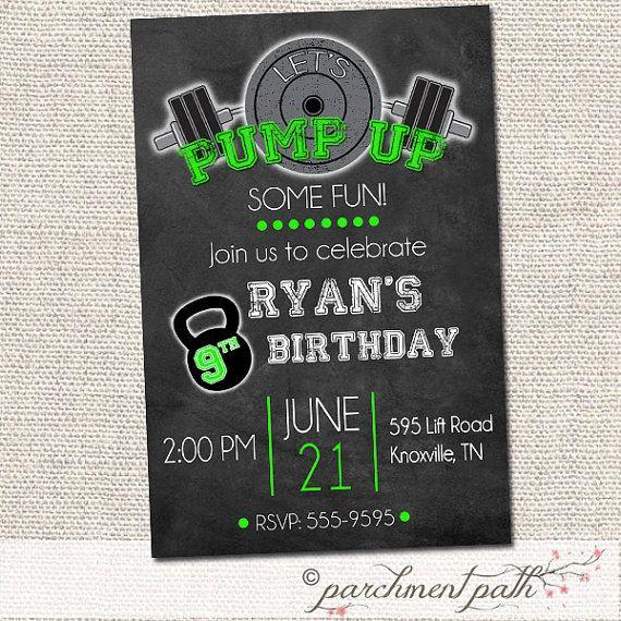 Birthday Invitations 7 Year Old Boy