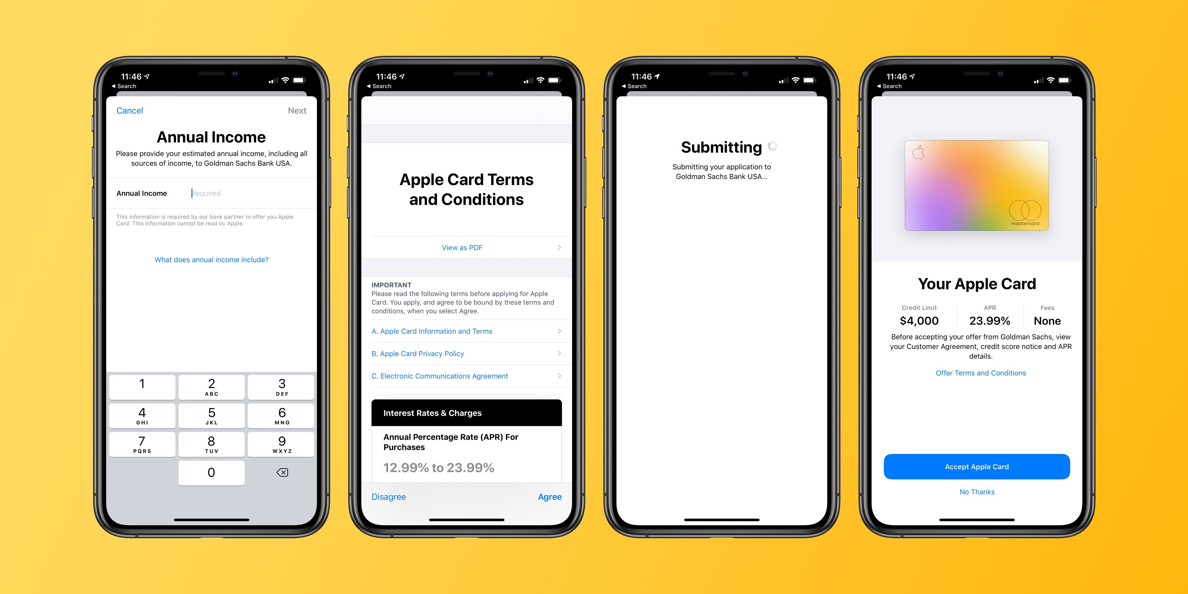 Handson Apple Card approval, application, more Bank