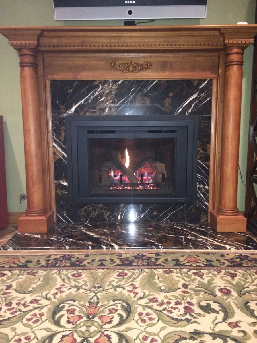 Newly Installed Heat N Glo Escape I30 Fireplace Stores Stove
