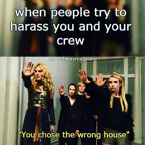 Funny Witch Ahs Coven Meme With Images American Horror Story
