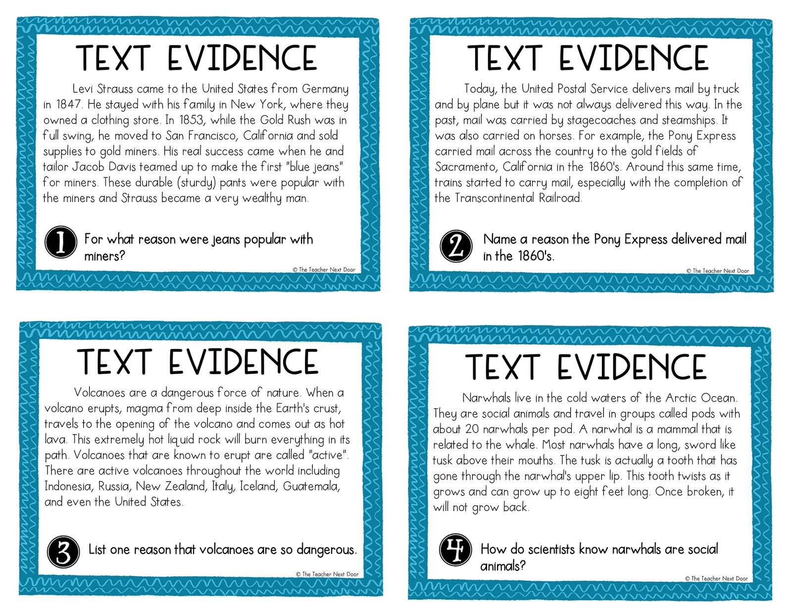Text Evidence Worksheet 4th Grade In 2020 Citing Text Evidence Text Evidence Text Evidence Activities