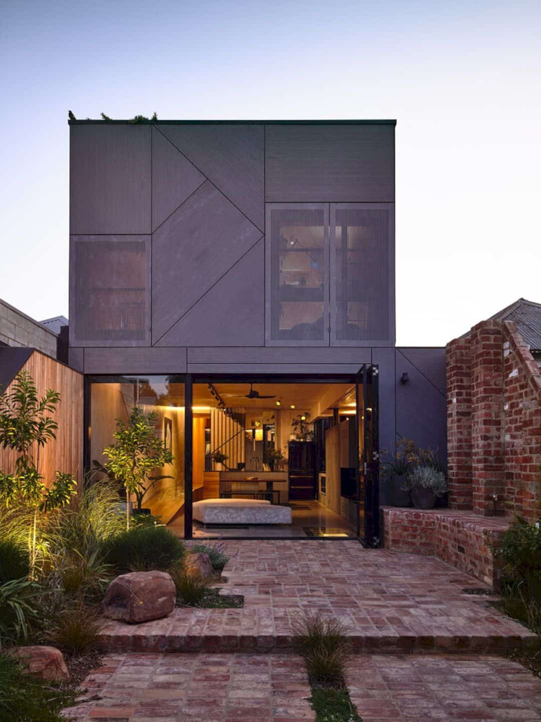 Union House A Fun Multi Level Home With Dramatic And Playful Features And Thoughtful Design In 2020 House Architecture Design Architecture House Design