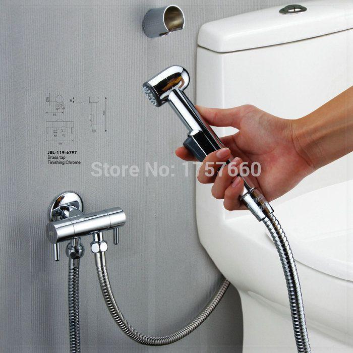 Buy Bathroom ABS Plastic bidet handheld small shower
