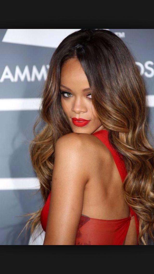 Ombré For Dark Skin Hair Curly Hair Styles Hair Color For