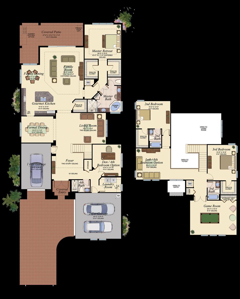 Vizcaya 606 Floor Plan Very Nice Floor Plans House
