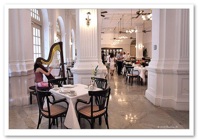 High Tea At Raffles Hotel 4081 British Colonial Style Colonial