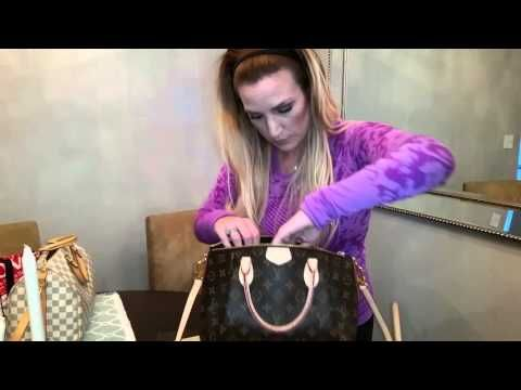 bb0e3d83900d Louis Vuitton Turenne PM vs Speedy 30 Bandouliere - YouTube