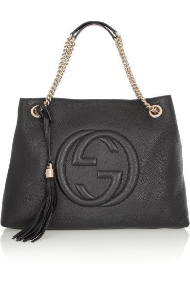 fd6b35c782af Gucci Soho textured-leather shoulder bag   Bags   Bags, Gucci ...