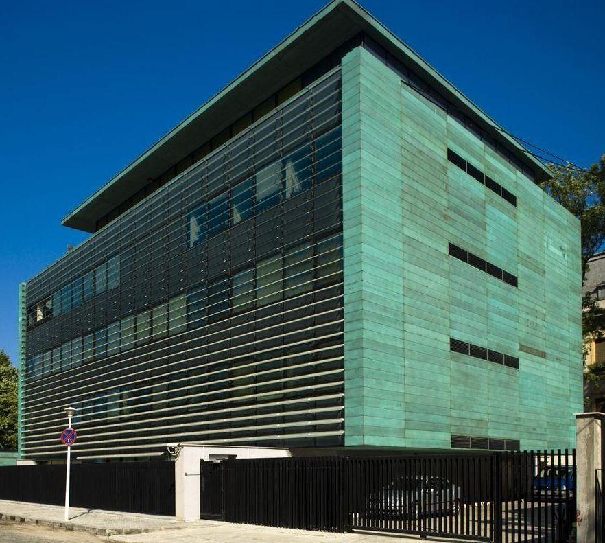 Metal Panel Facade : Multiple panel façade mpf interlocking metal