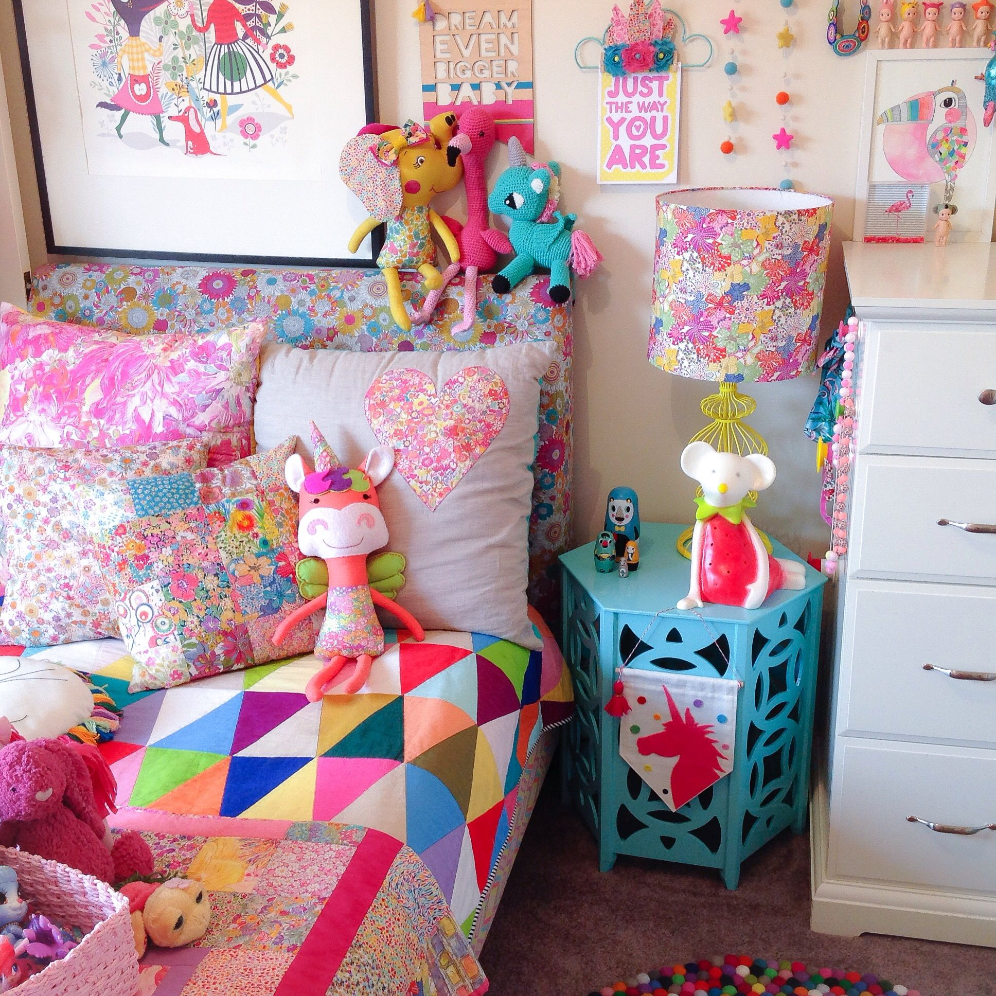 Rainbow Kids Rooms Girls Rainbow Room By Rhapsody And Thread