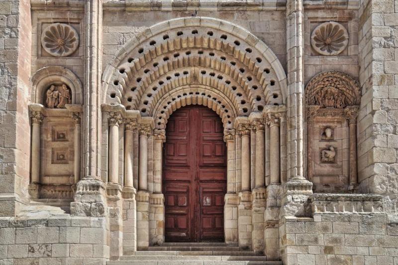 Puerta del obispo catedral de zamora rom nico zamora for Puerta zamora salamanca