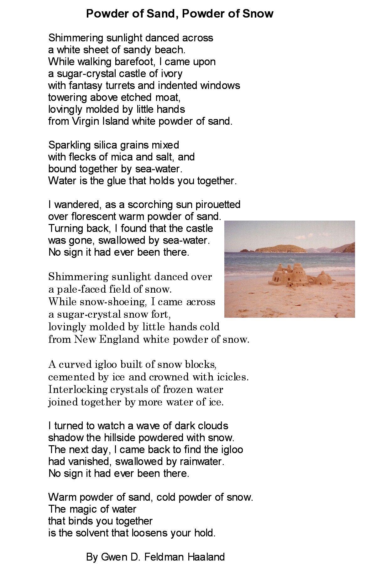 Dark Snow (poems)