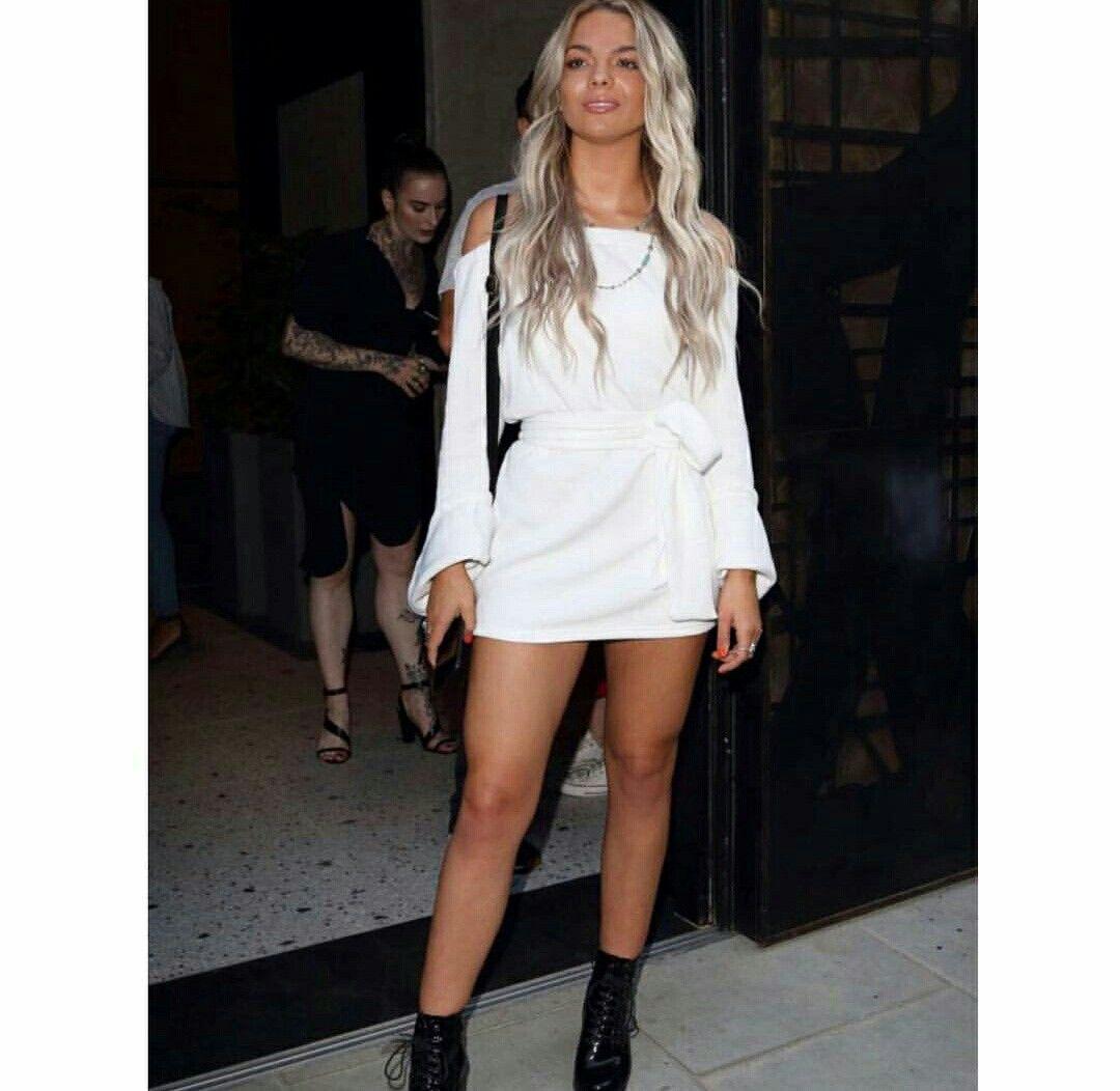 Louisa johnson white dress