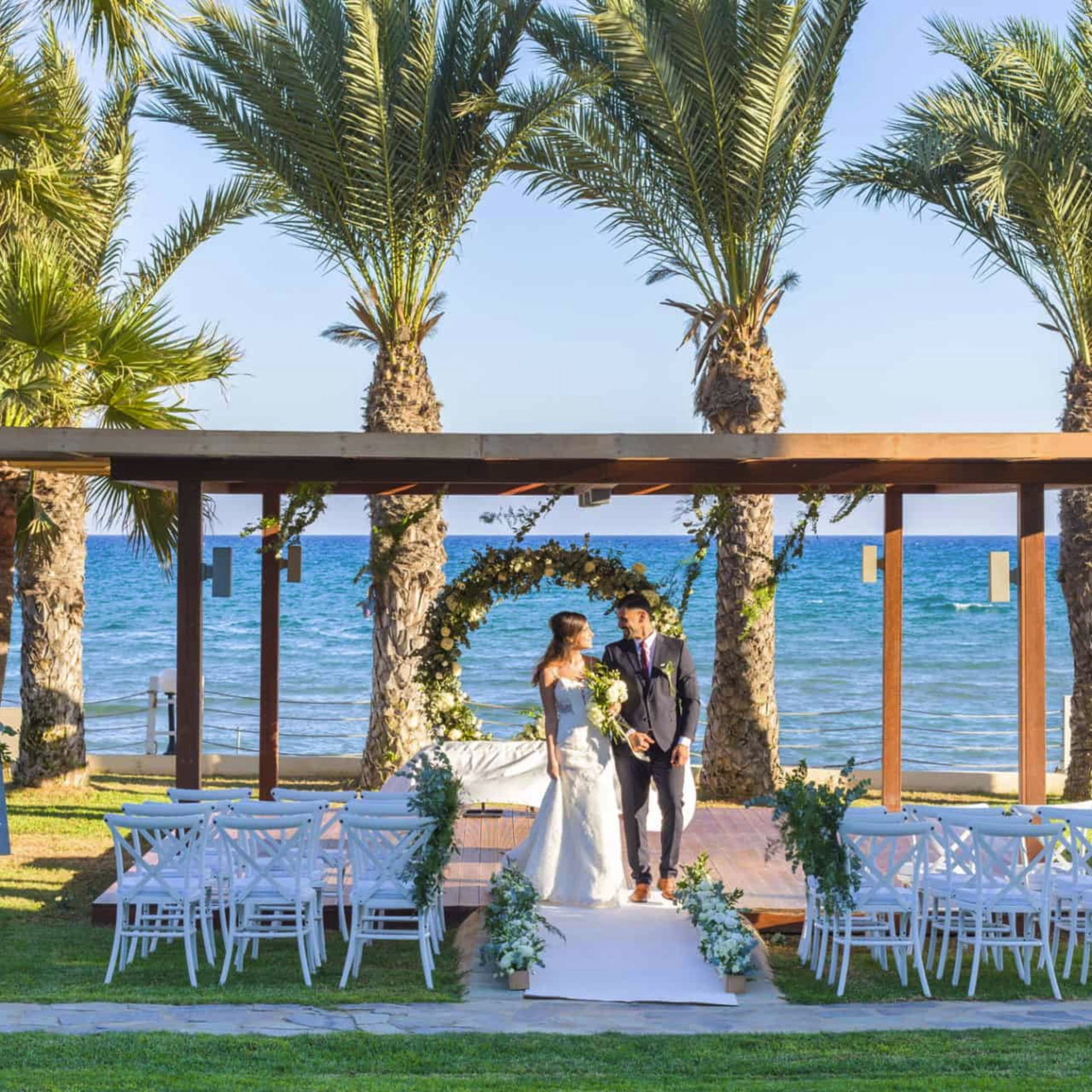 How Appealing Is Today's #weddingvenue In #Cyprus. Ideal