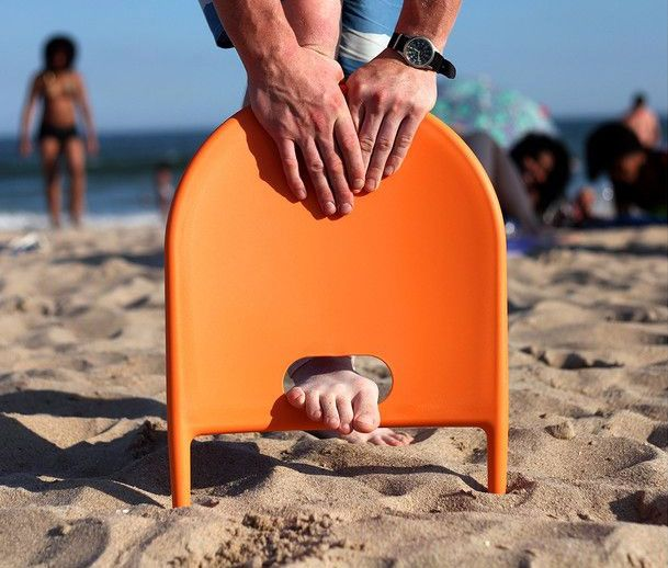 Beach Thingy Instant Beach Sand Chair | $19.50 & Beach Thingy Instant Beach Sand Chair | Unique Gifts | Beach Beach ...