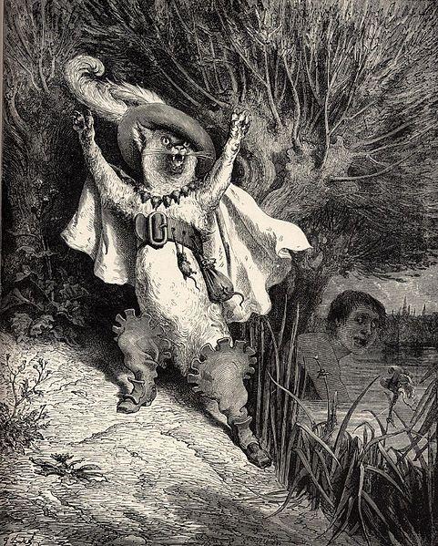 Gustav Doré, 1883, Puss in boots