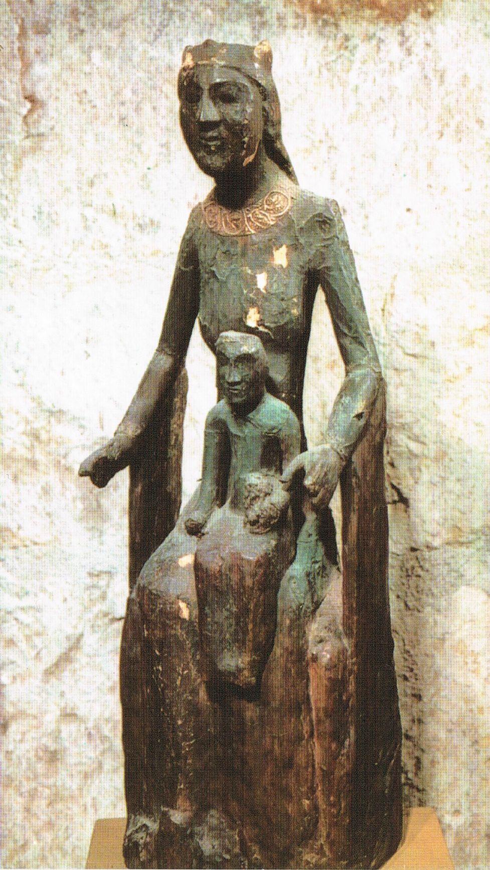 / / . Black Madonna of Rocamadour, 8-9th Century