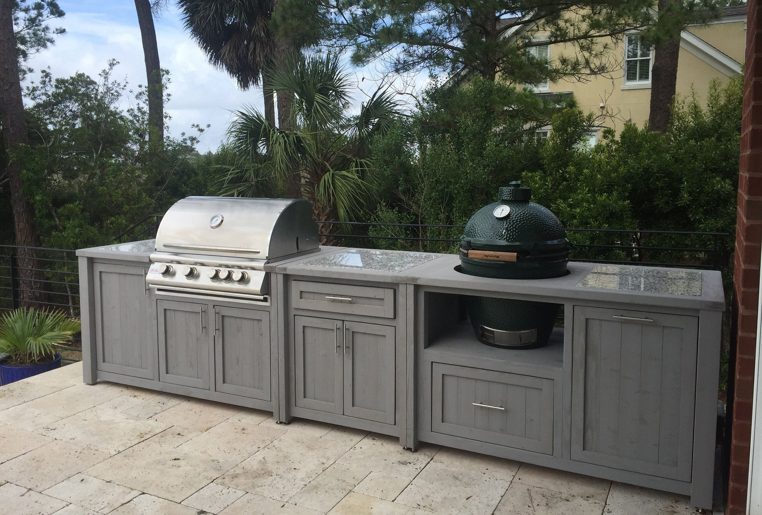 Outdoor Kitchens Mobile Grill Islands Dual Grill Tables Etsy Grill Table Diy Outdoor Kitchen Kitchen Grill