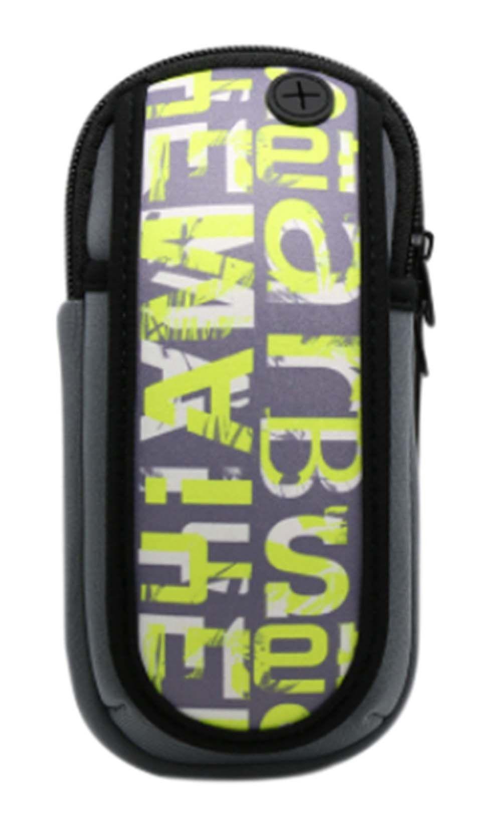 Alphabet Outdoor Sports Jogging Arm Package Mobile Phone Wrist Bag