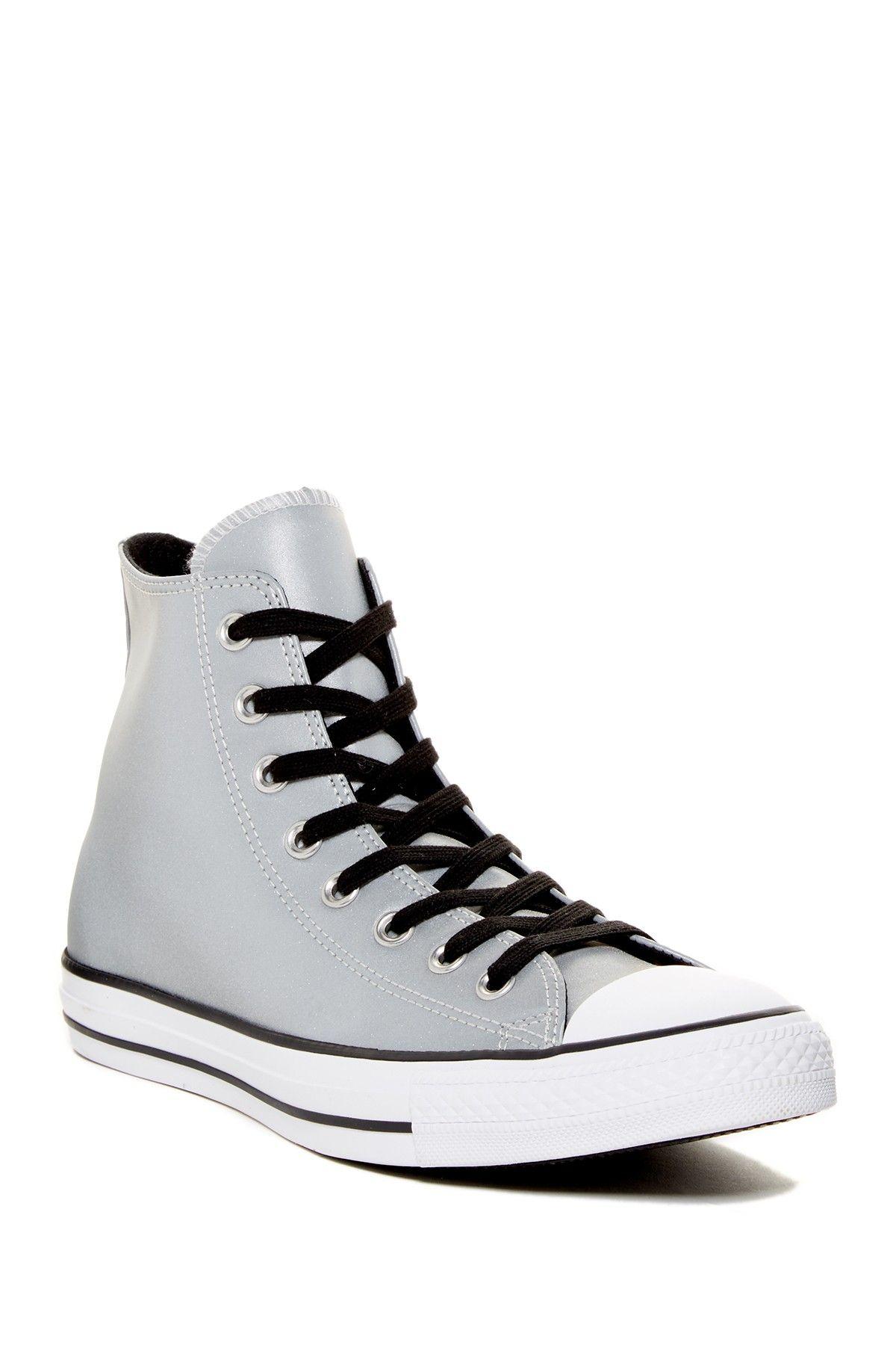 Chuck Taylor All Star Reflective High Top Sneaker (Unisex)