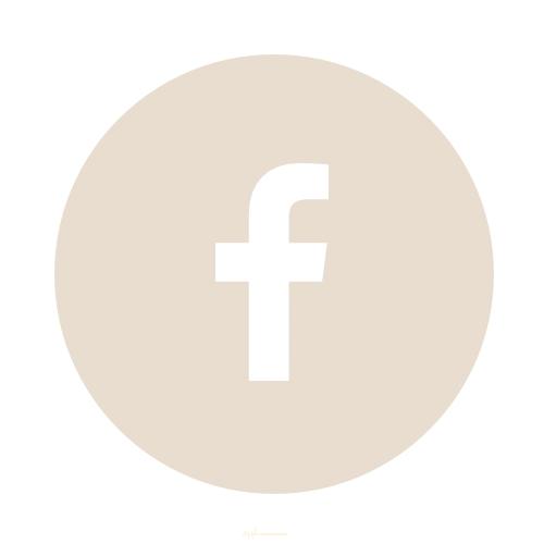 Facebook Icon Beige Icone Application Icones Facebook Application Iphone