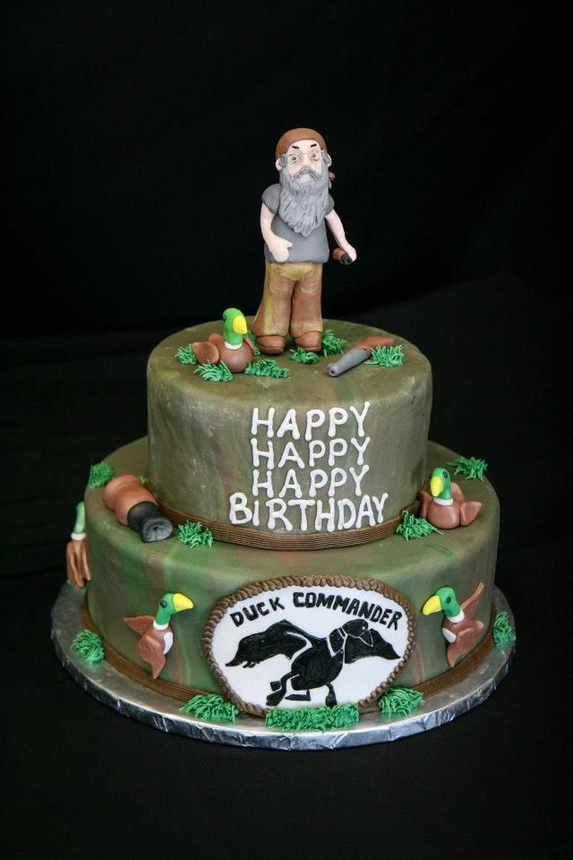 Duck Dynasty Gotta Do This For The Boys Bday Cakes And