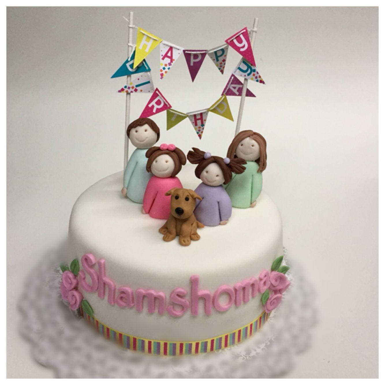 Surprising Happy Family Fun Birthday Cake Cake Birthday Cake Cool Funny Birthday Cards Online Bapapcheapnameinfo