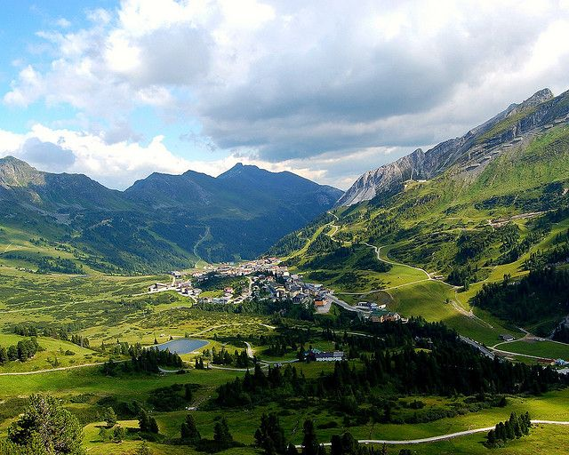 """spin on the Austrian Alps in a Julie Andrews style dress singing, """"The Hills Are Alive""""...probably throw in some yodeling."""