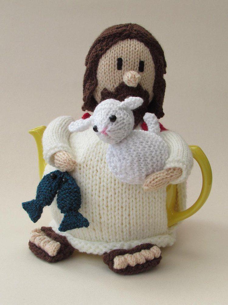 Jesus tea cosy http://www.loveknitting.com/catalog/product/view/id/167641