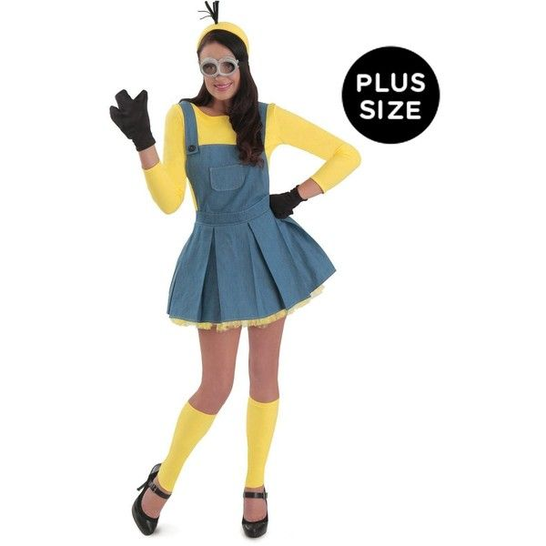 minions jumper women's plus size costume ($56) ❤ liked on