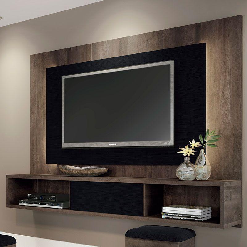 Painel E Rack Sala Pequena ~ ideias de rack  Pesquisa Google  Inspiração Decor  Pinterest  Tv