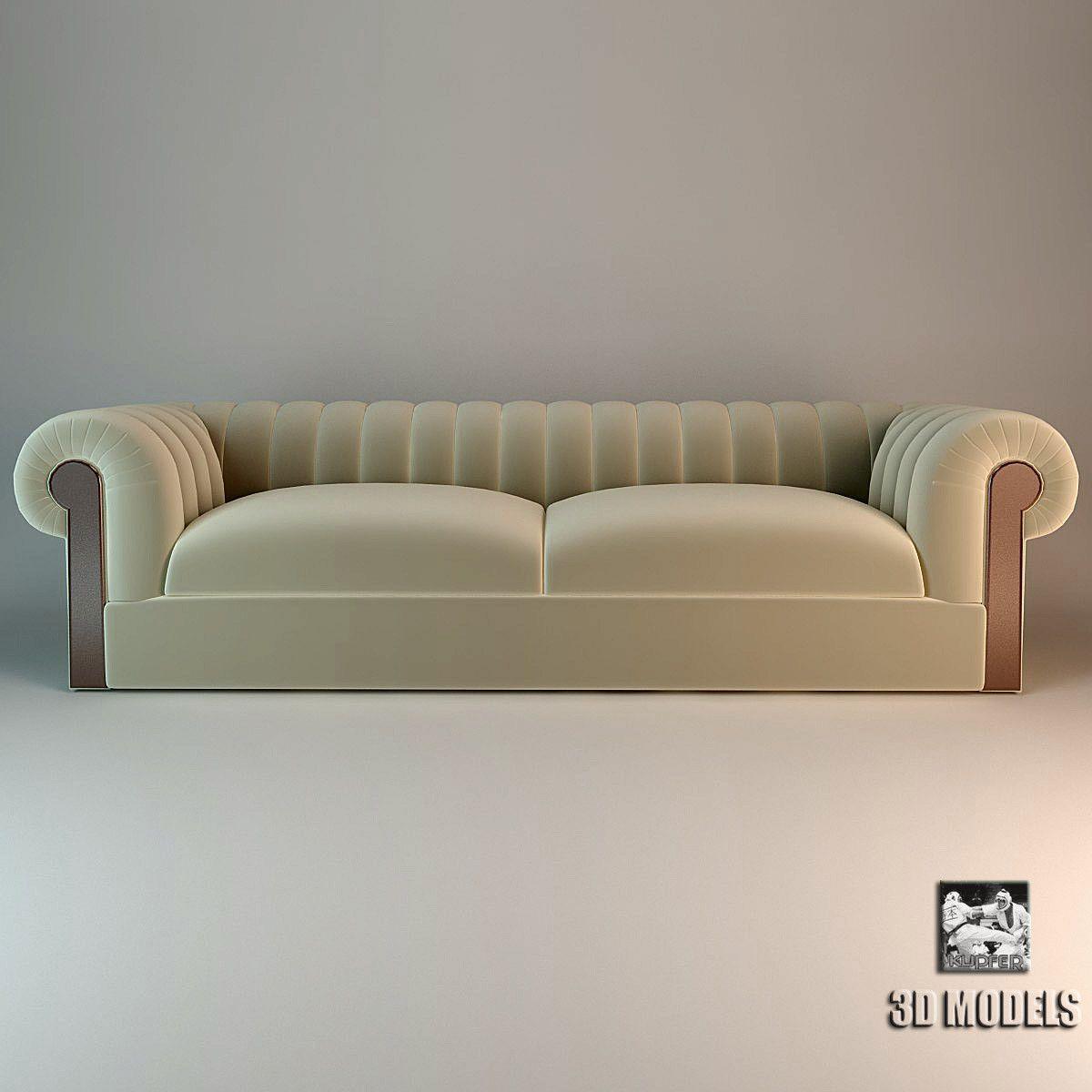 90f420170fd7 Max Fendi Minosse 3-seater Sofa by Fendi Casa