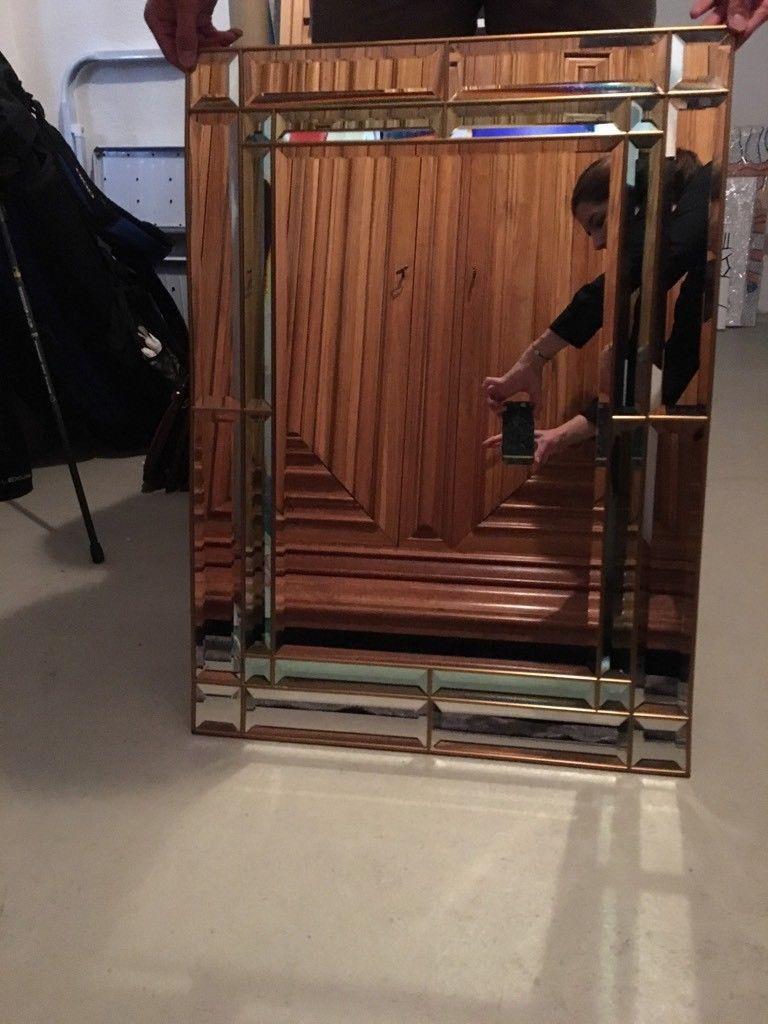 Badspiegel München hochwertiger deco spiegel mit vintage gold rahmen und