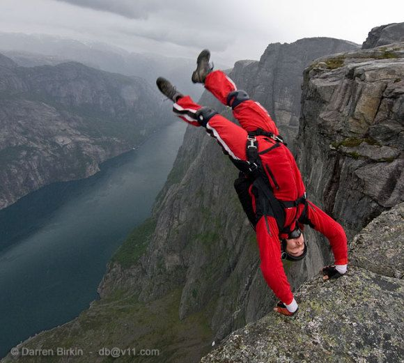Base Jumping Wallpaper Base Jumping Norway Living On The Edge