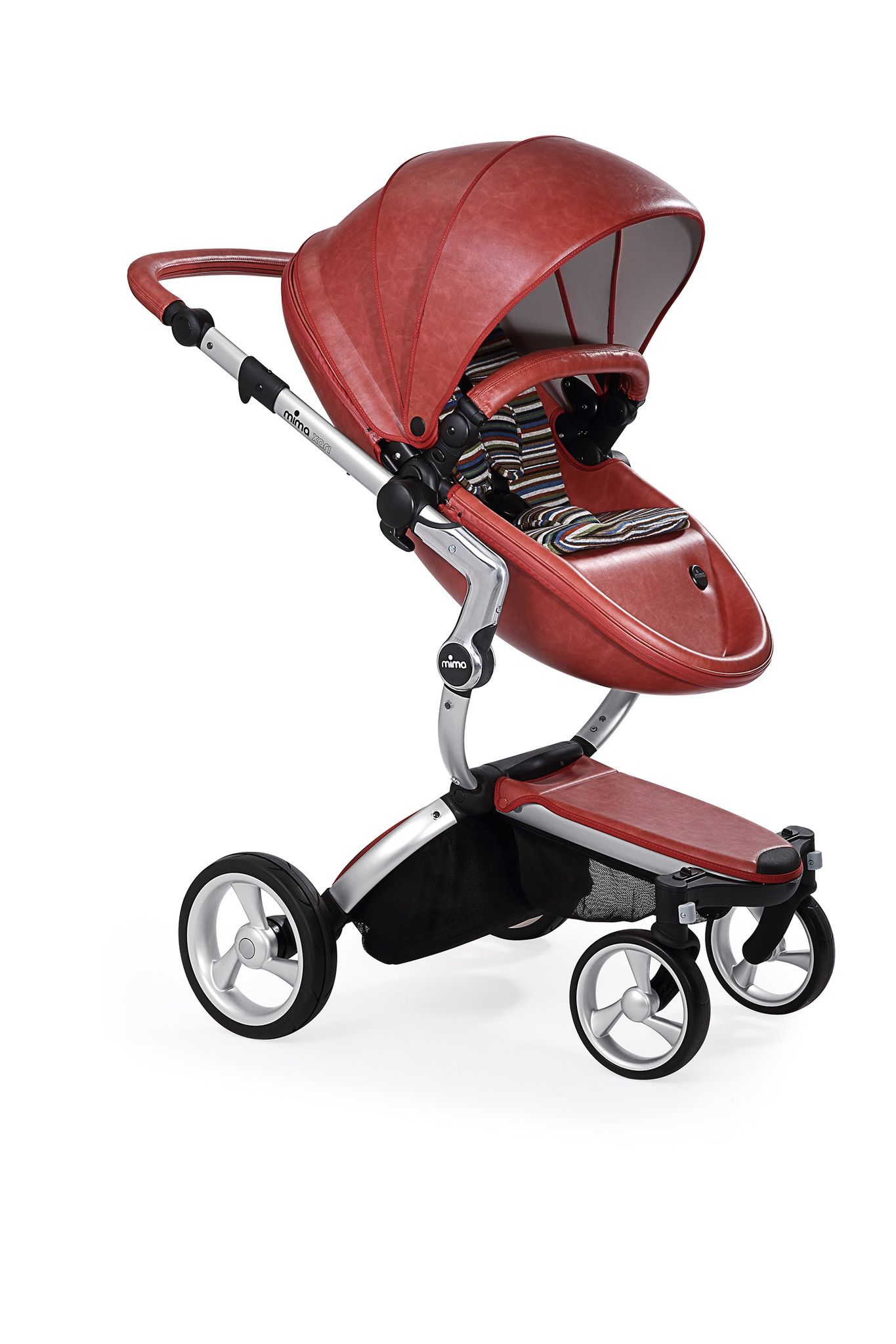 Mima Xari Stroller Silver Frame Mima xari stroller
