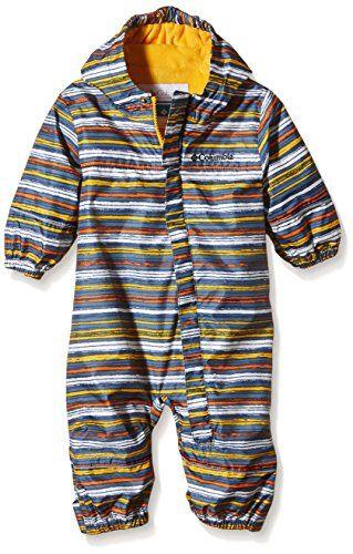 cca04f798c8 Columbia Snuggly Bunny Rain Suit Stinger Stripe 03 Months Baby Boy Jackets