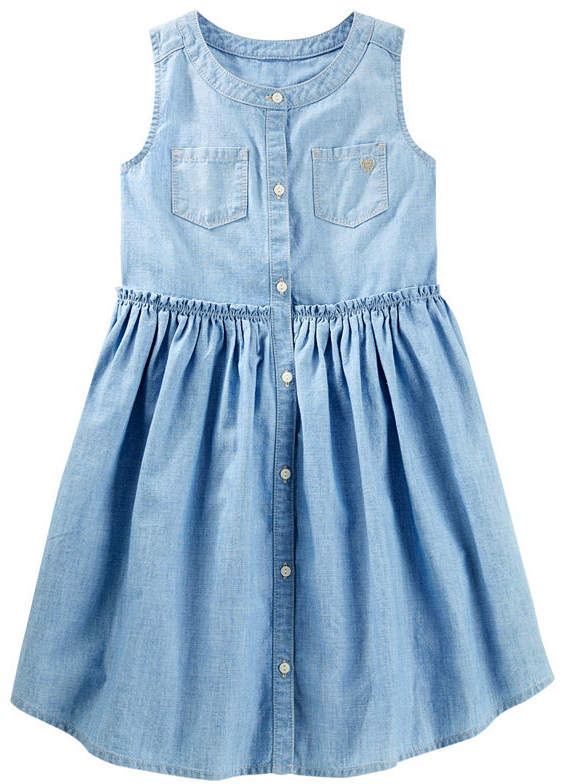 1e6e121be Osh Kosh Oshkosh Short Sleeve A-Line Dress - Preschool Girls ...