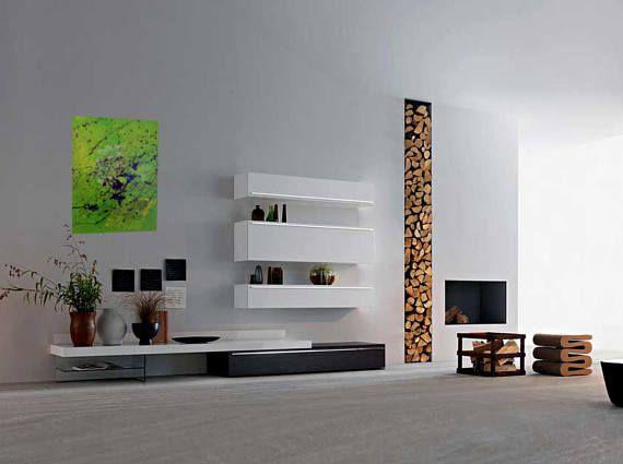 Radar, Acryl auf Leinwand, quadratische abstrakte zeitgenössische - leinwand für wohnzimmer