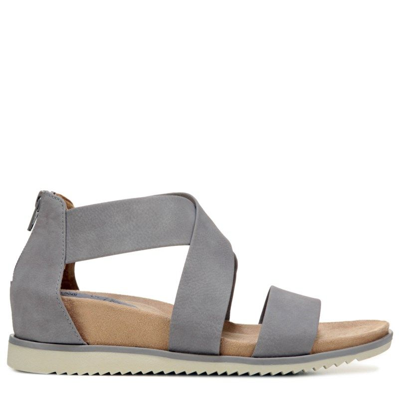 Eurosoft Women's Landry Sandals (Grey) - 11.0 M