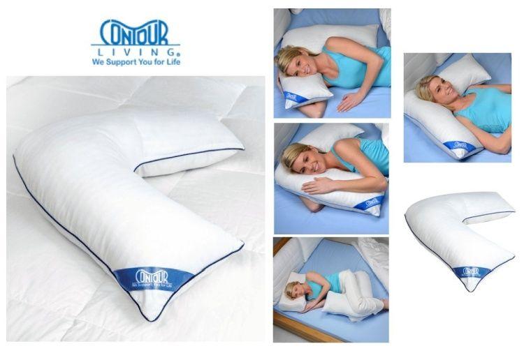 Contour L Pillow Side Sleeper Pillow Pillows