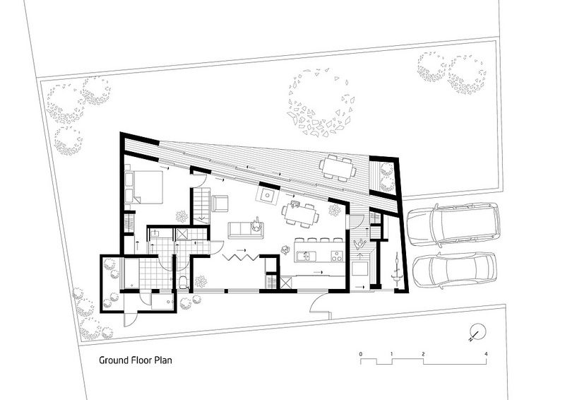 Bakoko Onjuku Surf Shack Ground Floor Plan Floor Plans Ground