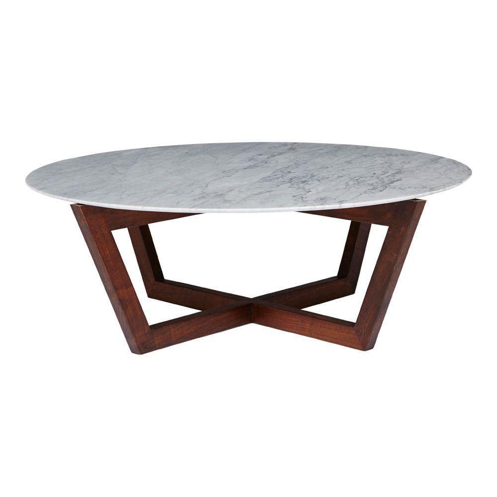 Modern Designer Round Italian Marble Coffee Table Walnut Wooden Base Marble Round Coffee Table Marble Coffee Table Coffee Table [ 1000 x 1000 Pixel ]