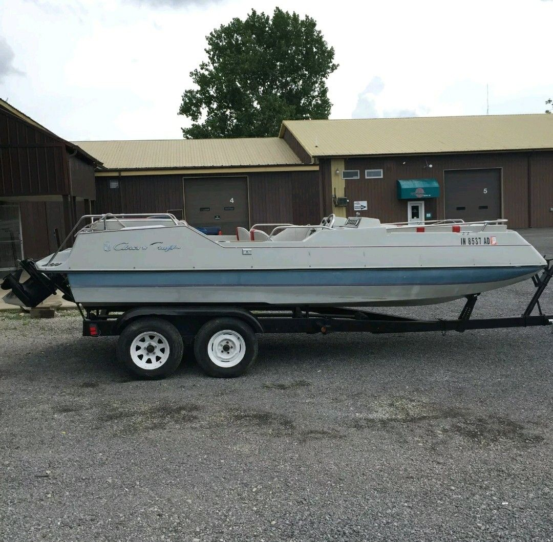 Viking Deck Boat | Chris Craft Viking | Pinterest | Deck Boats And