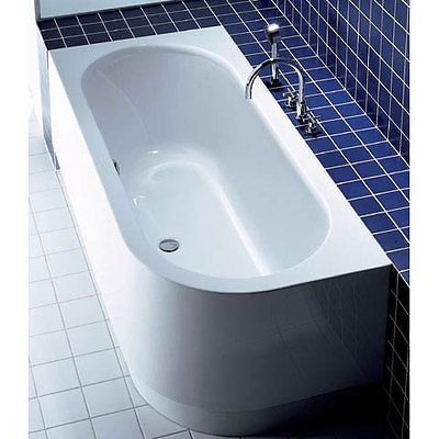 Brand new and boxed duravit happy d left corner bath tub 1800 x ...