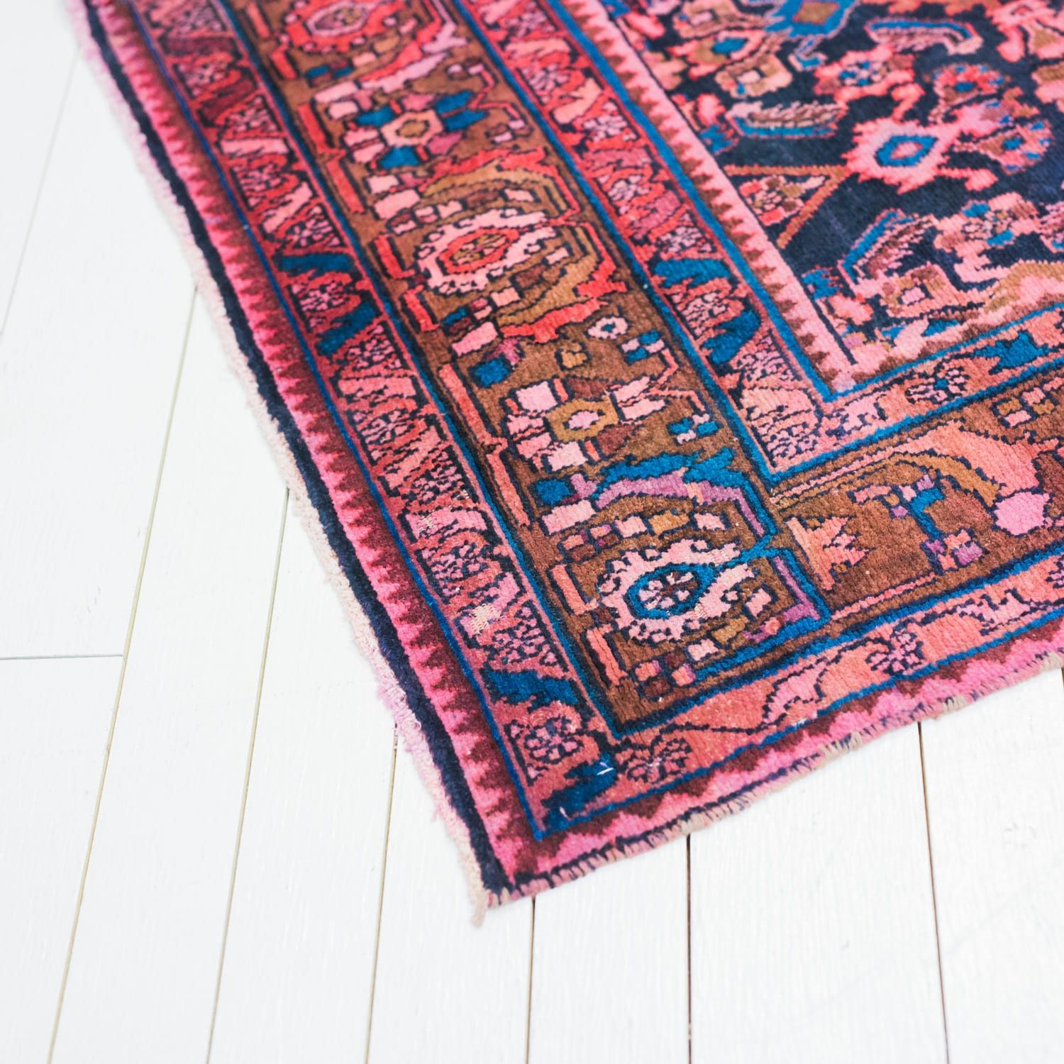 Our Collection Of Vintage And Modern Rental Furnishings Birch Brass Pink Persian Rug Blue Persian Rug Rugs On Carpet