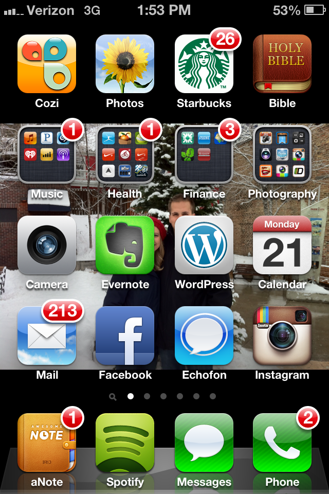 iPhone Apps I Can't Live Without (Part 2) >> http://wp.me/p2wAHY-1RP // Some of my favorite iPhone apps in 2013!