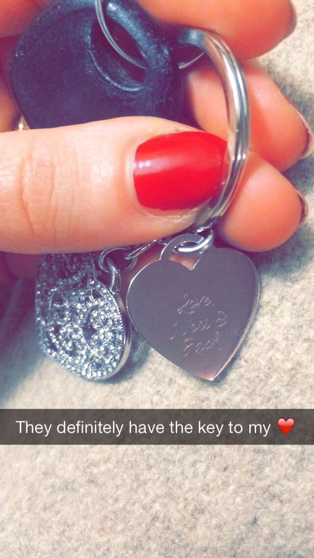 keys to my heart from my sweethearts!