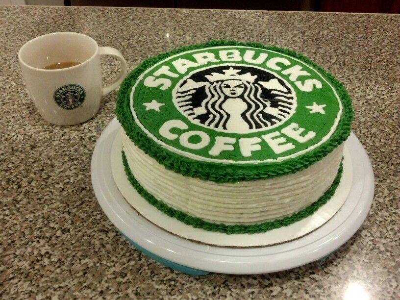 Starbucks Birthday Cake I Made For My Sister She Loves Starbucks
