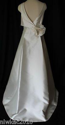 151118146d255 J crew silk gazar nanami gown wedding dress size 6 ivory $2995 | Fashion